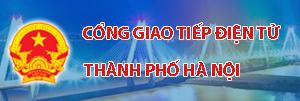 Cổng giao tiếp điện tử UBND TP HN